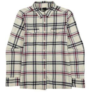 Patagonia Fjord Plaid Flannel Button Down Windrow